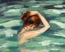 My Home is the Sea . giclee art print