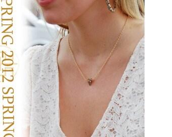 Minimalist Stud Necklace, S12-21