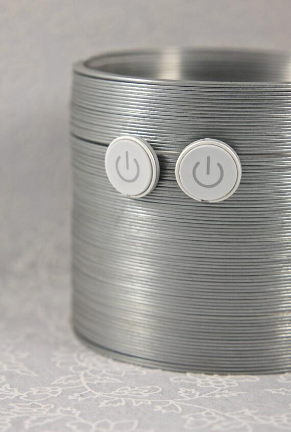 Power Button Earrings - Computer Geek Earrings - Tech Lover