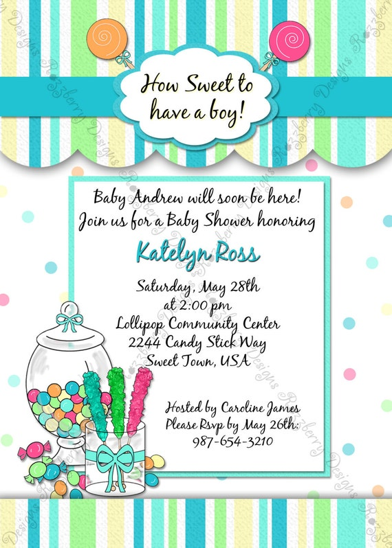 Candyland Theme Invitations was nice invitations design