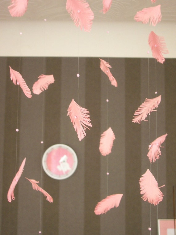 PINK FEATHER MOBILE