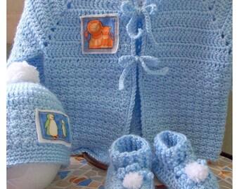 Baby Blue Sweater Set