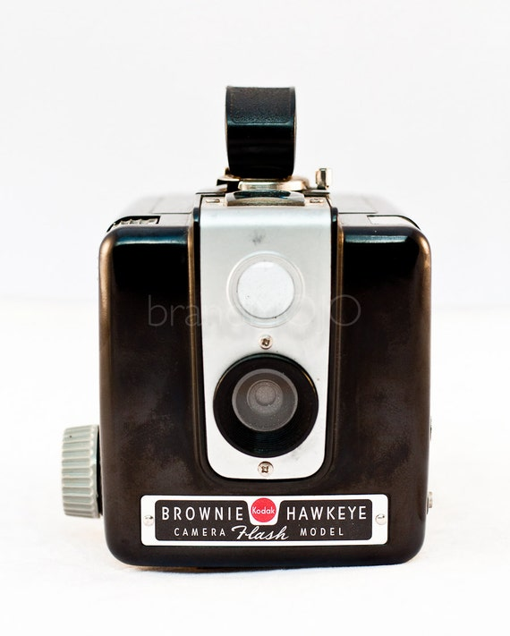 Retro camera Photograph decor fine art photo bakelite toy camera 620mm film mid century lover collector -Kodak Brownie Hawkeye - vintage