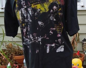LED ZEPPELIN super faded vintage tshirt t shirt LARGE