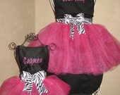 Mommy & Me Personalized Tutu Aprons