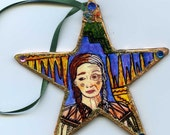 Hand Made Native American Triple Goddess Ornament Death and Rebirth Navajo, Apache