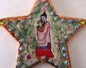 Hand Made Chinese God of Wealth and Happiness Ornament Protector Father Blessing New Year