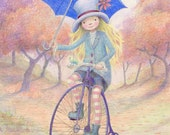 Penny Farthing   -   large print
