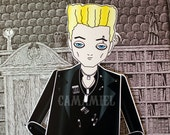 Spike paper doll Buffy the vampire slayer Assembled articulated