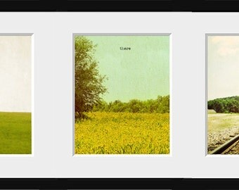Here, There, Everywhere - Triptych - Tennessee - Rural