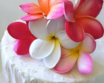 Plumeria Cake Flowers