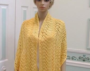 Knitting Pattern For Kate Middleton s Shawl : Princess Kate Middleton Shawl hand knitted in a by UptownKnits