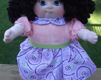 Cloth Baby Doll, Soft Doll, Plush Soft Sculpture Doll, OOAK Soft Sculpture Dolls