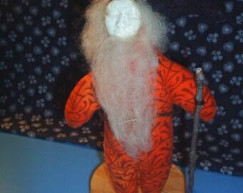 Woodsman Art Doll / Art doll /  handmade doll - ooak doll / collectable doll