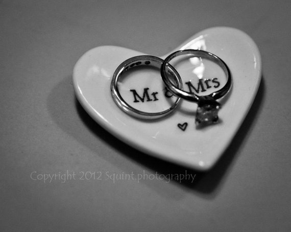 like this item - Black And White Wedding Rings