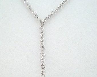 1.10 Carat Aquamarine Solitaire Pendant Necklace 14k White Gold Bezel Set Adjustable Chain