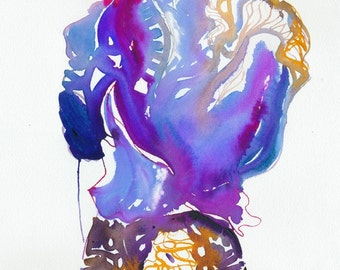Watercolour Fashion Illustration, Print of fashion illustration,  Fashion as Art, Watercolor Fashion, Fashion sketch
