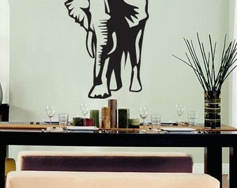 Vinyl Wall Art Decal Sticker Lucky Elephant Decoration 142s