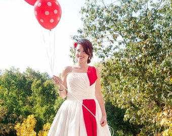 Tea Length Wedding Dress - Jenny Wren