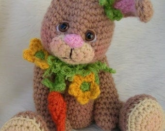 Crochet Pattern Bunny by Teri Crews instant download PDF format