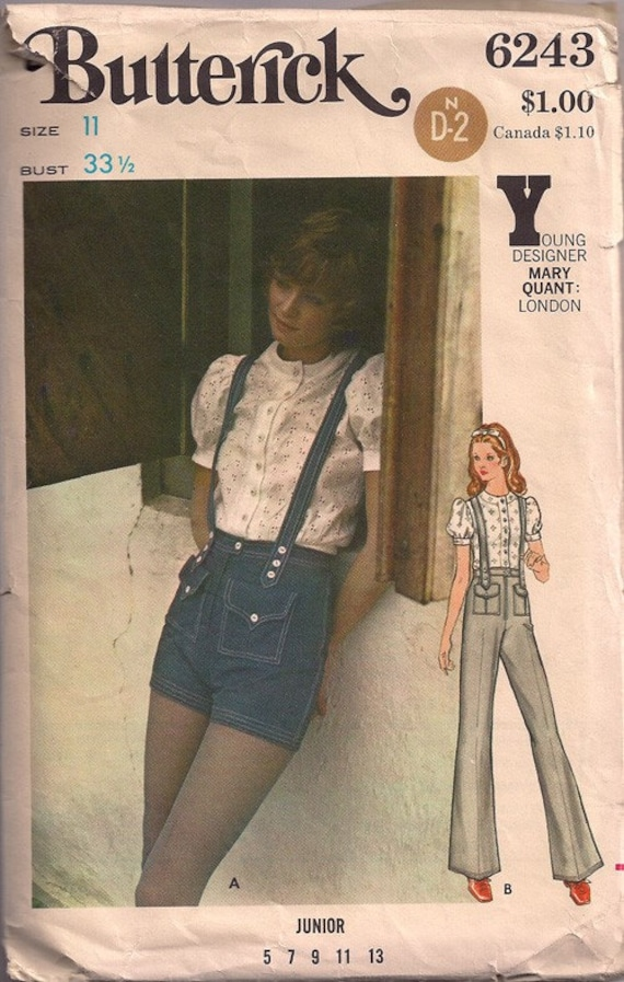 Butterick 6243 Young Designer Mary Quant London