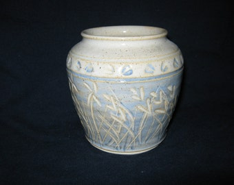 Vintage Pottery Ginger Jar/  VASE  By Gatormom13