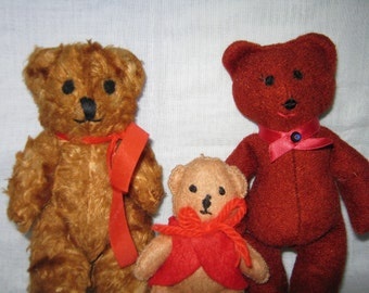 Teddy Bear Three Little Bears By Gatormom13 JUST REDUCED