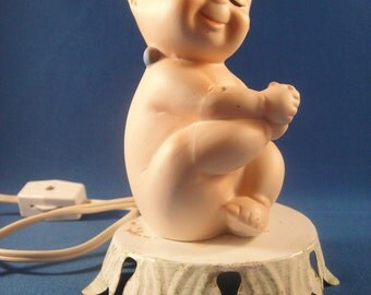 Kewpie Night Light Portable Lamp