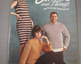 Knitted and Crocheted Sweaters and Things Star Book No 182