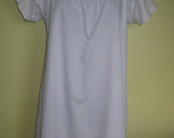 Regency Chemise/Shift. Jane Austen. MADE to MEASURE. Cotton.