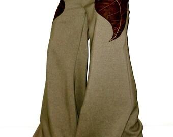 choose size & length pixie leaf pants