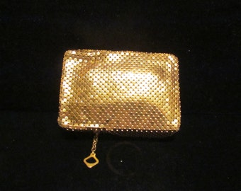 Vintage Cigarette Case Whiting & Davis Mesh Case Cell Phone Case Change Purse Card Holder Coin Purse EXCELLENT UNUSED CONDITION