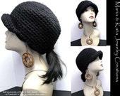 Crochet Cap Hat- UNISEX for Women or Men