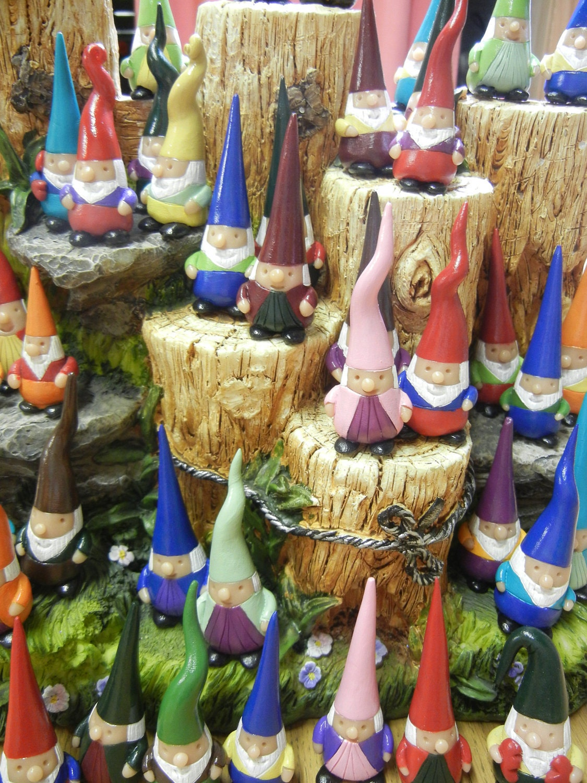 Gnome Garden: Pocket Gnome Garden Gnome Lawn Gnome OOAK Hand Sculpted