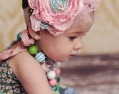 Matilda Jane House of Clouds Obsession Headband persnickety matilda jane