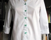 vintage 80s girl scout shirt