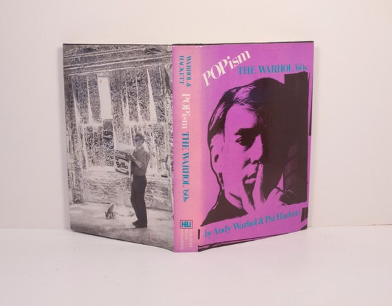 Andy Warhol, POPism The Warhol 60's, by Andy Warhol and Pat Hackett RARE first edition 1980
