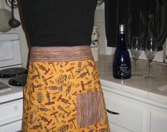 Time for Wine Ladies half apron