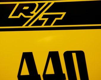 Dodge Charger R/T 440 - Classic Car Art - Mancave Decor - Muscle Car - Masculine Decor - Hot Rod Art - Fine Art Photography