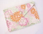 Clutch, Women's Clutch, Handmade Clutch, Floral Clutch