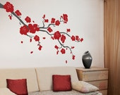 Cherry Blossoms Branch Wall Decal - BRCB010R