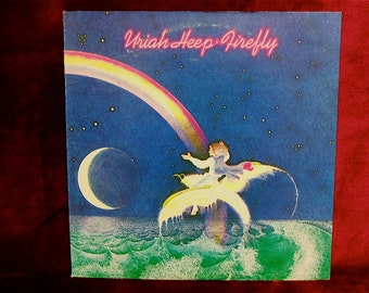 URIAH HEEP - Firefly - 1977 Vintage Vinyl Record Album
