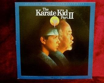 The KARATE KID Part II - Original Soundtrack - 1986 Vintage Vinyl Record Album