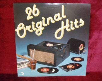 26 ORIGINAL HITS - Vintage Vinyl 2 lp Record Album