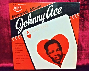 RARE...JOHNNY ACE - Memorial Album... Again......Johnny Sings - 1961 Vintage Vinyl Record Album