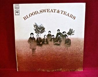 BLOOD, SWEAT And TEARS - Blood, Sweat and Tears - 1969 Vintage Vinyl GATEfold Record Album