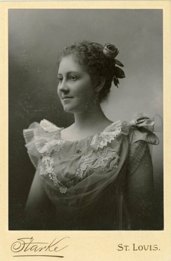 """Vintage Cabinet Card Photo """"Young Beauty"""", Photography, Paper Ephemera, Antique, Snapshot, Old Photo, Collectibles"""