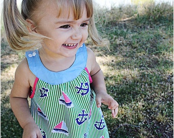 Madison Dress: Girls Dress Pattern, Baby & Toddler Dress Pattern, Sun Dress Pattern