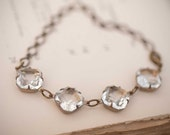 Estate Style Bridal Bracelet Wedding Jewelry Bridesmaid Bracelet Classic Swarovski Bracelet Statement Bracelet Vintage Wedding Bracelet