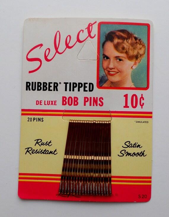 SALE 1950's Chicago Hair Pins